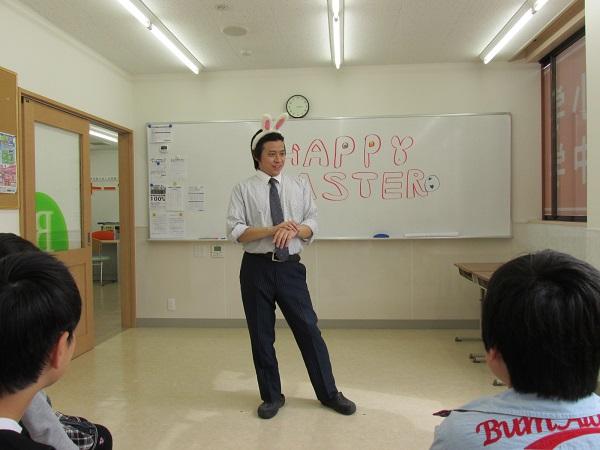 【川越市砂新田の学習塾 トーゼミ】イースターパーティーをやりました!