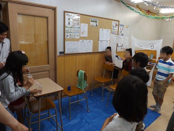 学習塾トーゼミFit 松山中央教室 小学生対象 シャボン玉イベント